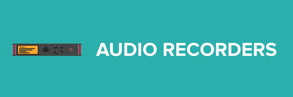 video-equipment-audio-recorders