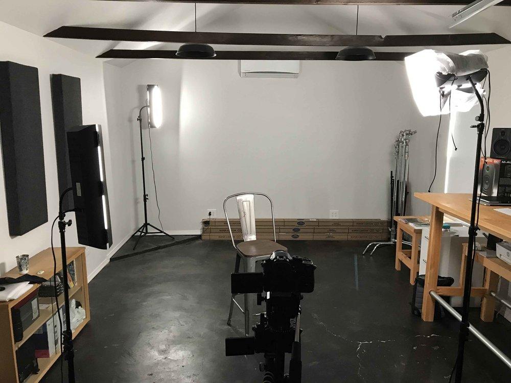 Original setup.