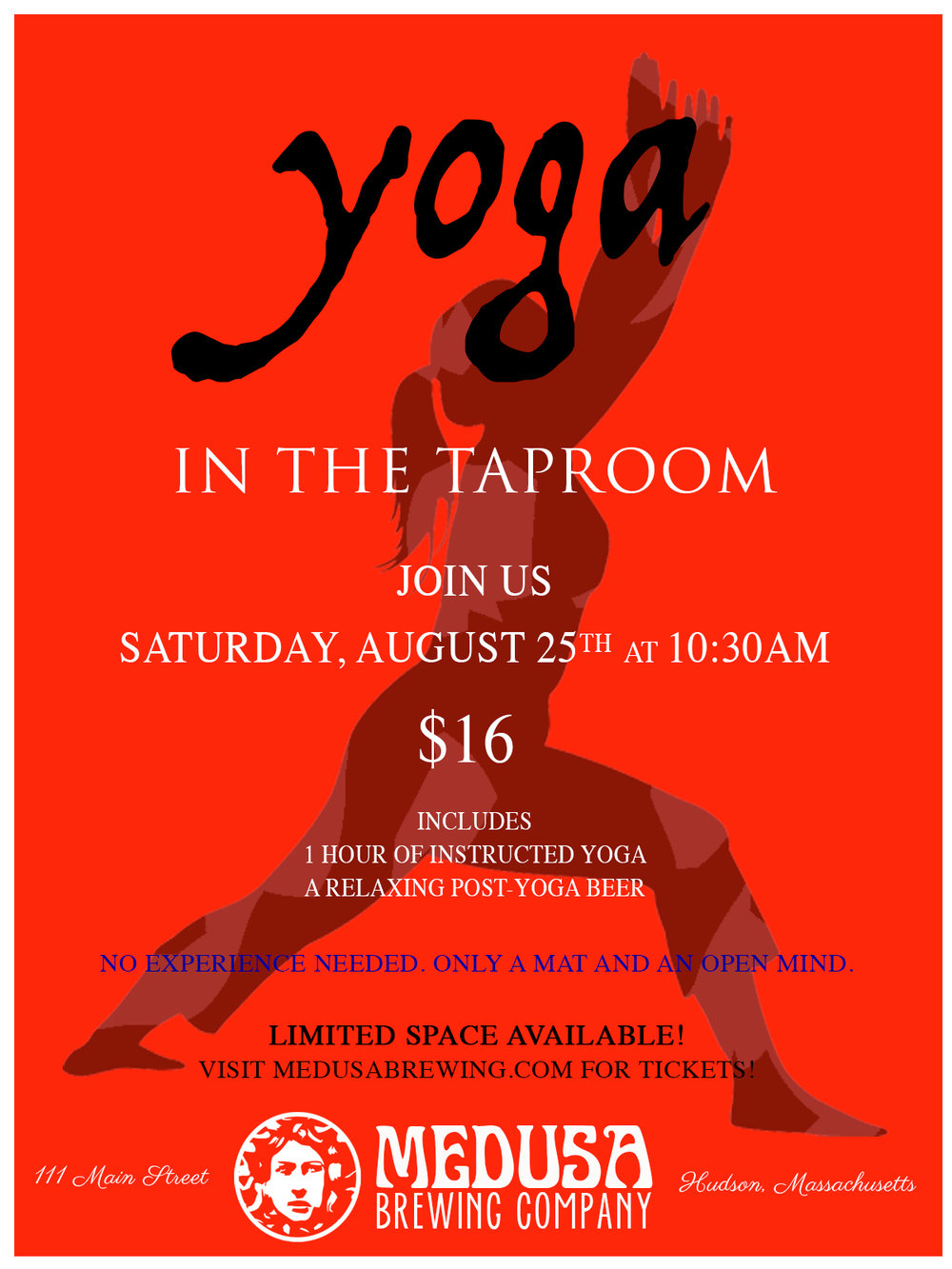 YOGA AND BEER ALL IN ONE STOP!