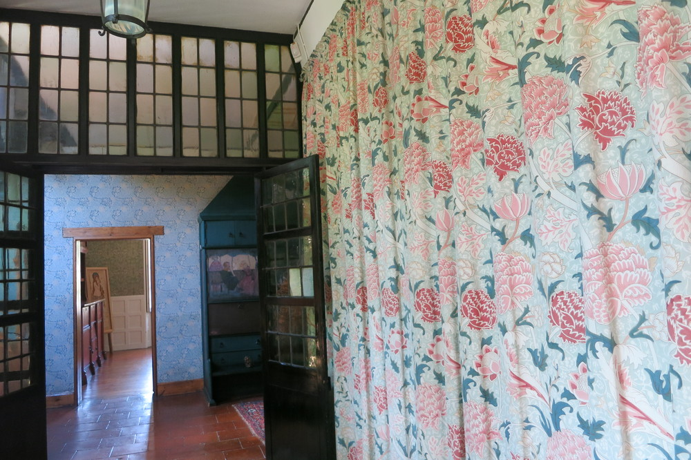 Interior view of William Morris's 'Red House'