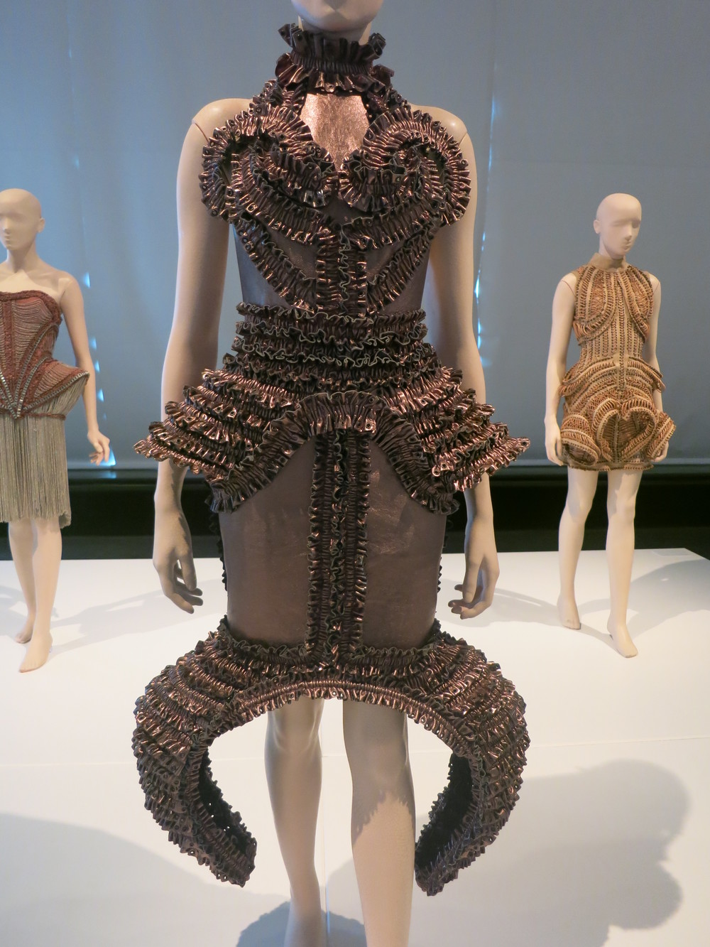 Iris van Herpen exhibition at the Calais Lace Museum 2013 - 'MUMMIFICATION' 2009