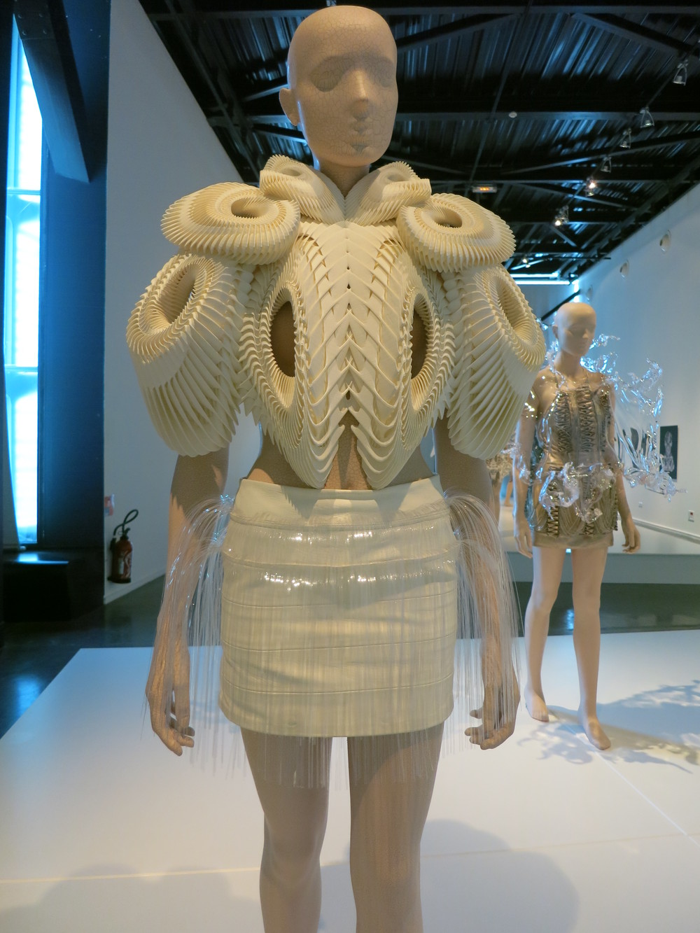 Iris van Herpen exhibition at the Calais Lace Museum 2013 - 'CRYSTALLIZATION' 2010
