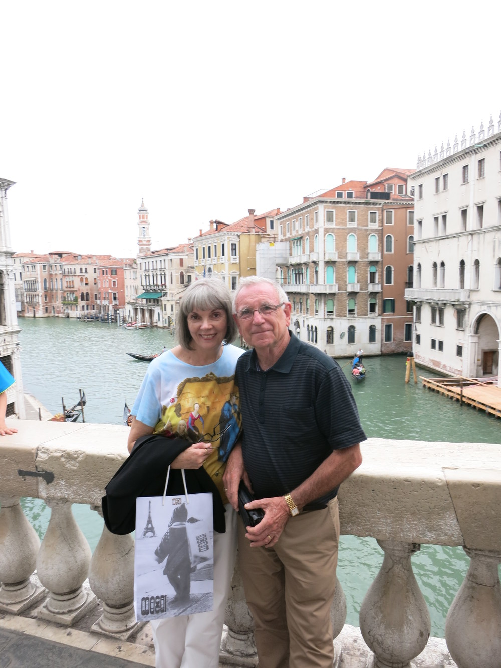 Moi with my Philip in Venice