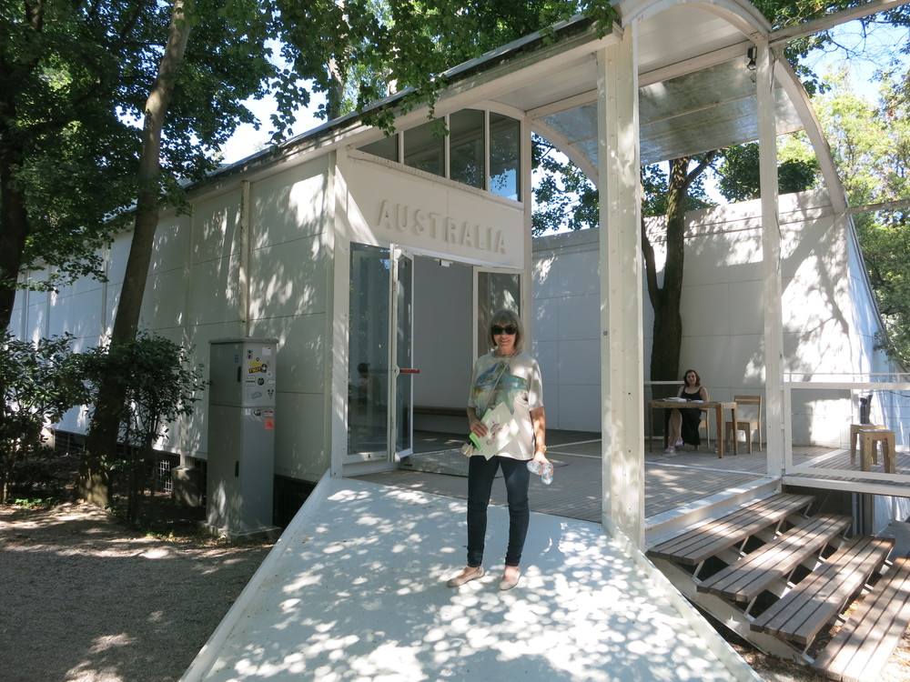 The Philip Cox designed Australian Pavilion in the Giardini, Venice. This has been replaced since 2013.