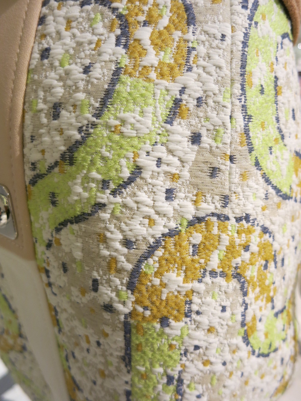 Detail of a Peter Pilotto dress 2015