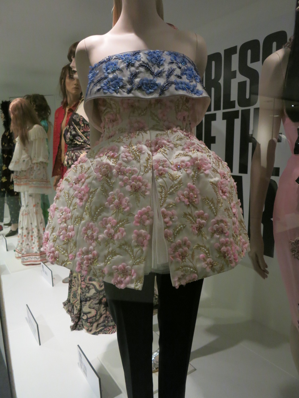 'Dress of the Year' Bath Fashion Museum - Raf Simon's ensemble for Dior was voted 'Dress of the Year' for 2012