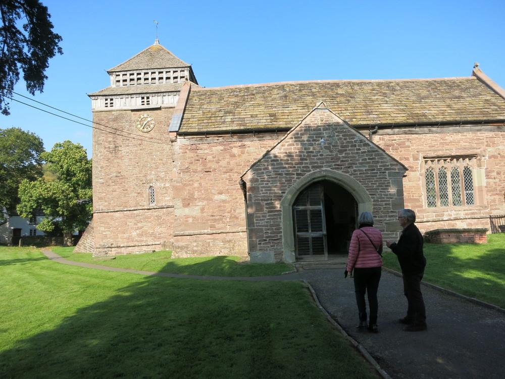 St Bridget's Church, Skenfrith, Wales