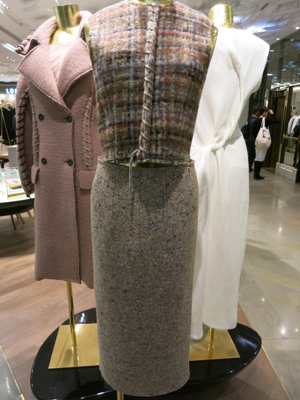Galeries Lafayette, Paris. Acne collection 2015
