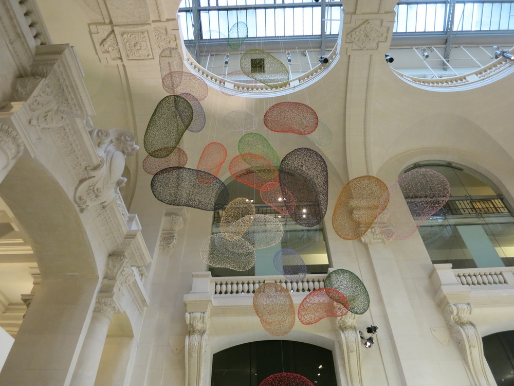 Musee des Art Decoratifs, Paris. 'Korea Now' exhibition 2015. This installation is by Lee Sung-keun.
