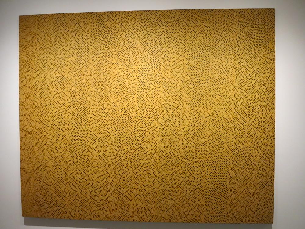 Yayoi Kusama's 'Infinity Nets Yellow' 1960