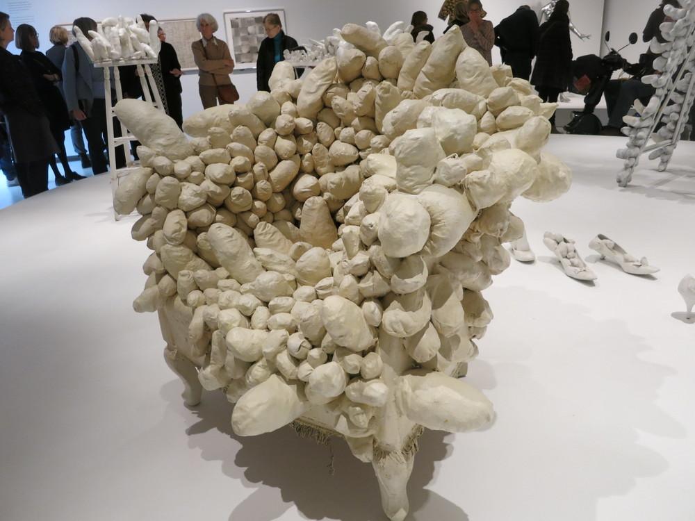 Yayoi Kusama's 'Accumulation Sculptures'