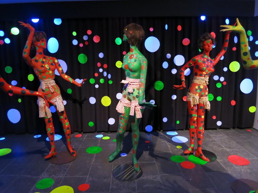 Yayoi Kusama's 'Polka Dot Love Room' 1967/2015