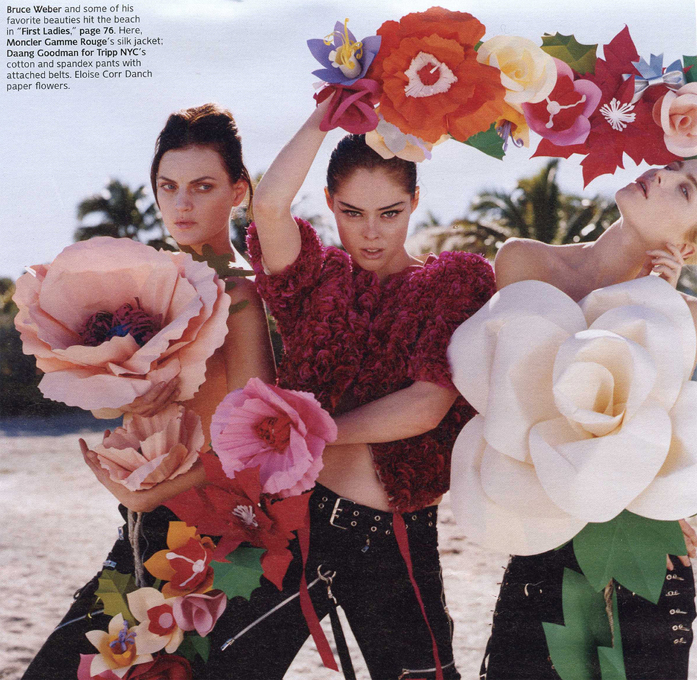 Eloise corr danch w magazine april 2010 photo bruce weber styled by camilla nickerson mightylinksfo