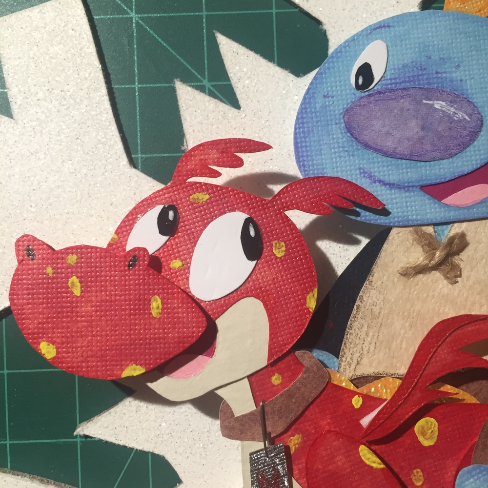 Close-up Wallykazam! Ornament  - 2015