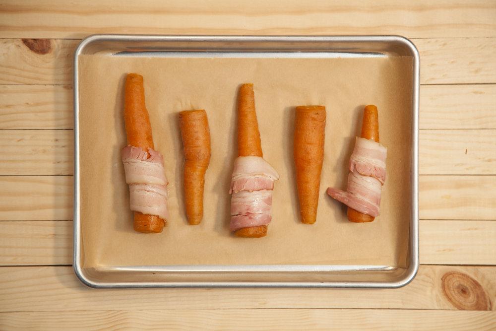 receta zanahoria con tocineta