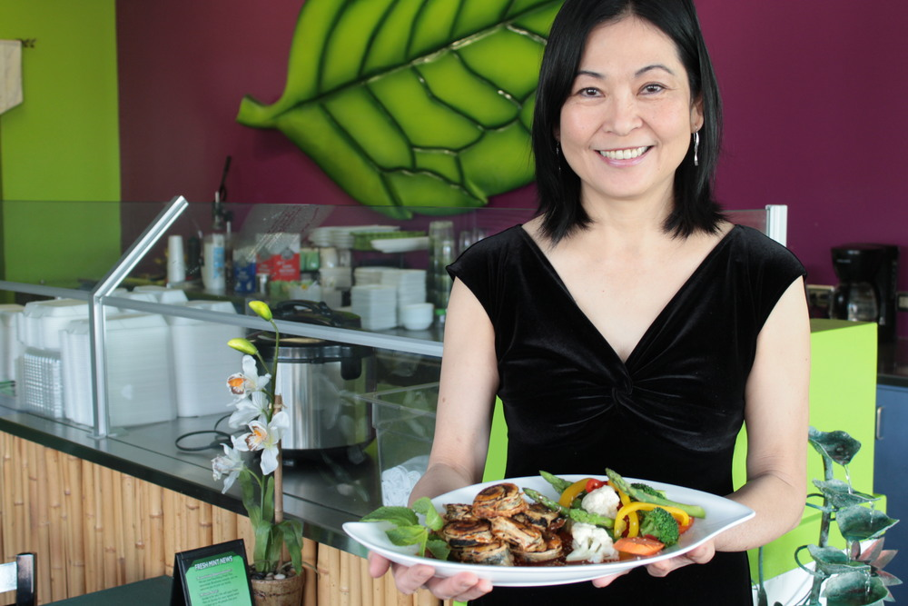 Fresh Mint Creator and Chef, Mai Ly
