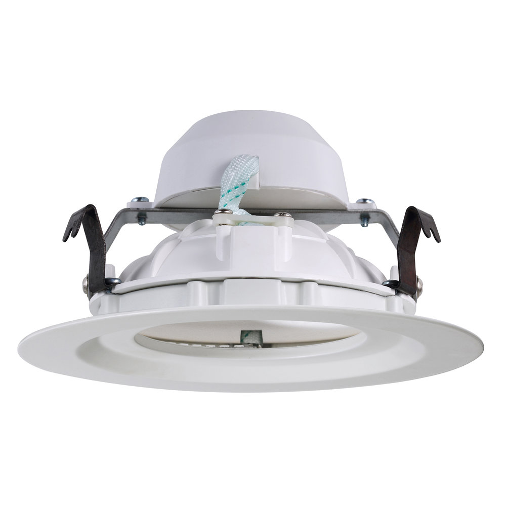 Novolink NRL04-9W-E26 4-inch LED Recessed Light Trim - ISO Side