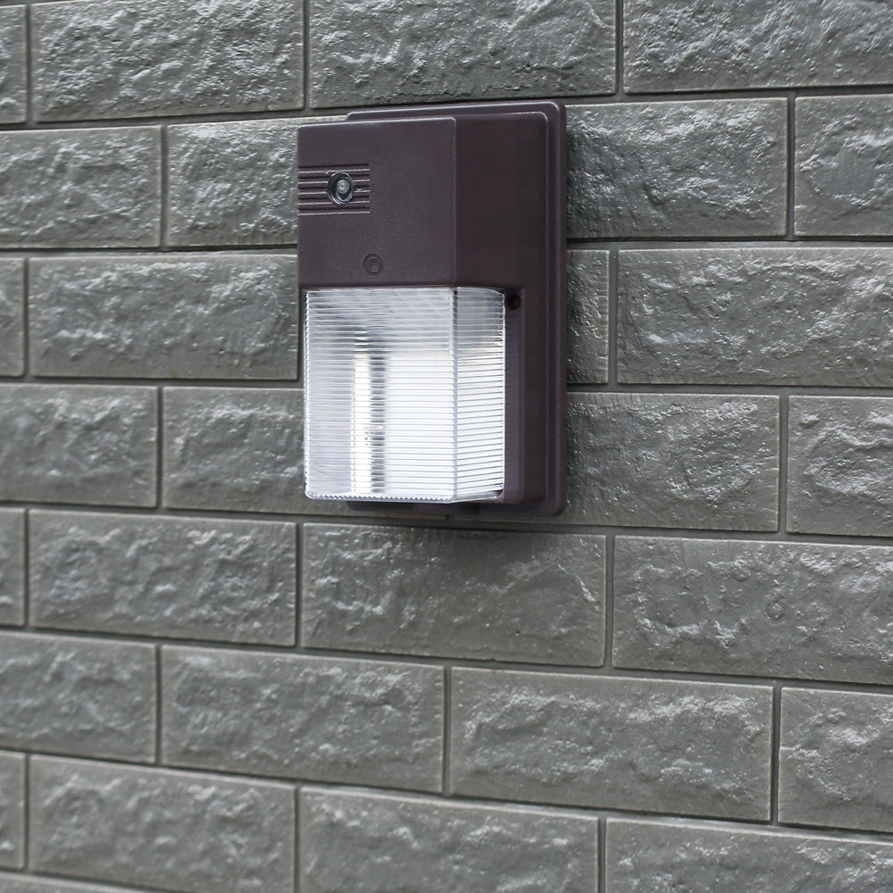 Novolink Wall Pack Light, on brick wall