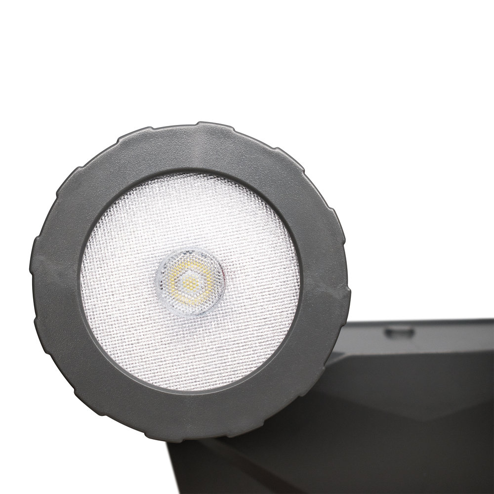 NL-DSG2 Solar Security Light, Lamp Head Detail