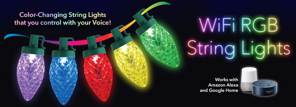 Novolink WiFi RGB String Lights