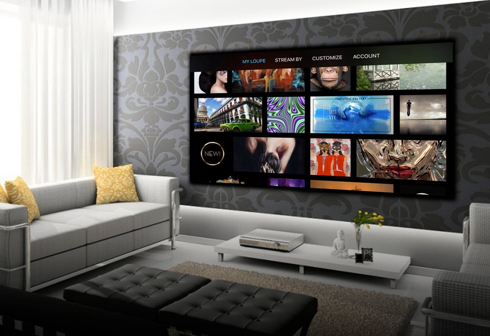 Loupe quickly ranked #1 Lifestyle App on Apple TV around the world. -