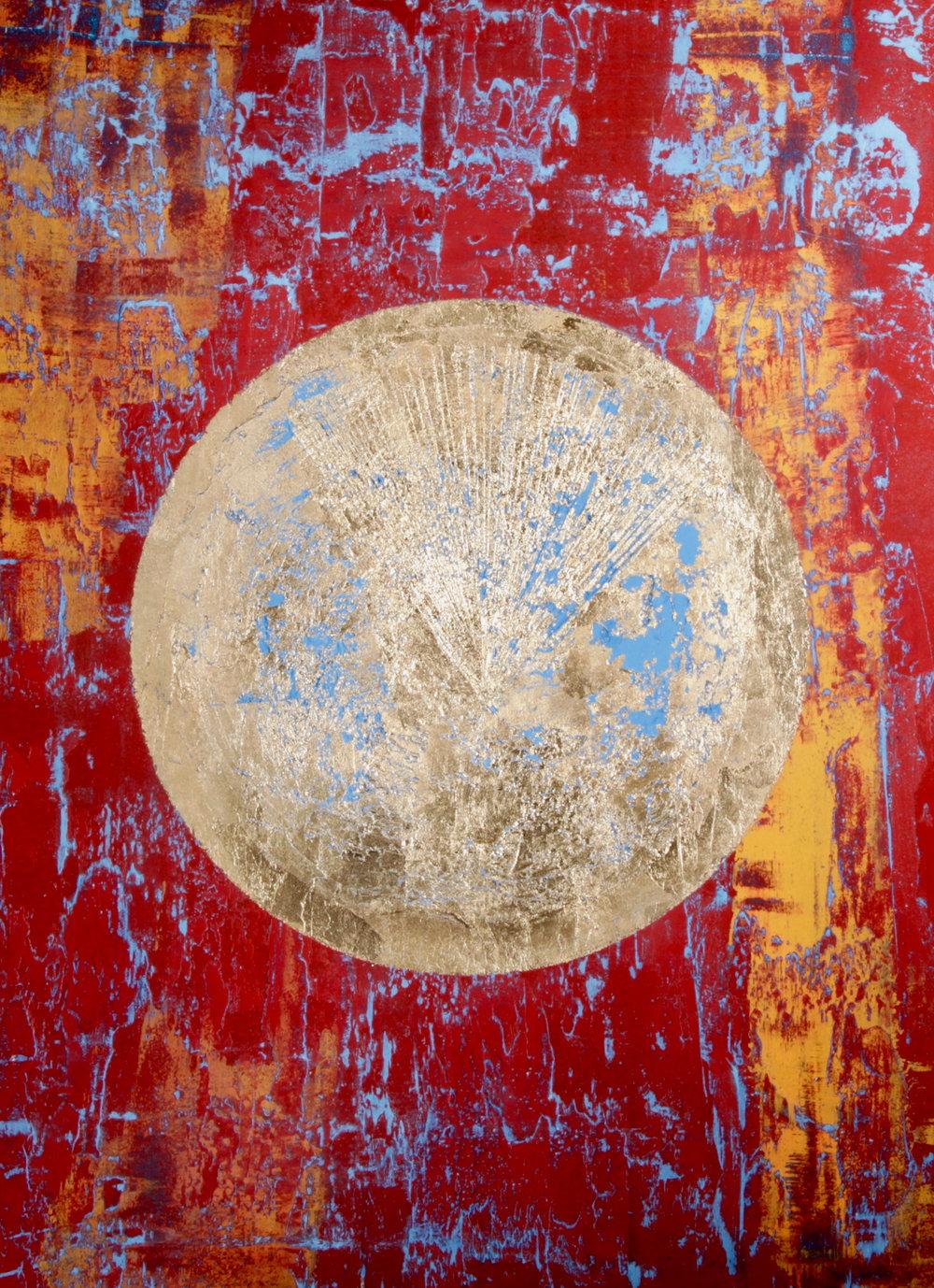 ARTI NYC - Cheyenne 100x75 cm, Acrilyc cement and gold leaf (1).jpg