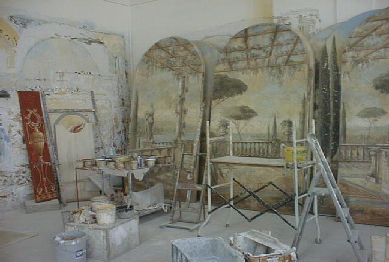 Frescoes Decorative Wall Art Painting Bellini S Antique Italia