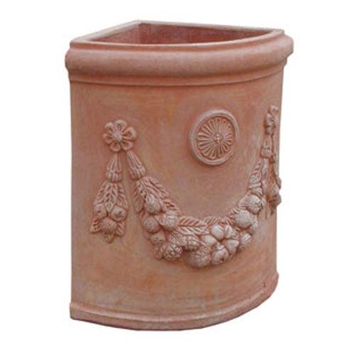 Italian Tuscan Terracotta Garden Vases And Amphorae