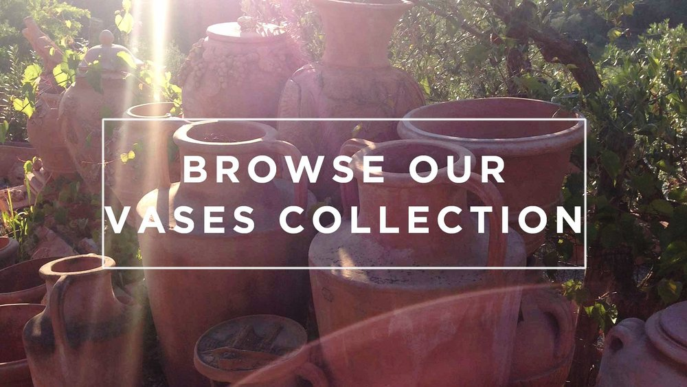 Tuscan Terrecotte Vases and Amphorae