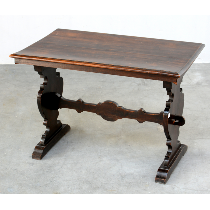 Antique Italian Rustic Tuscan Refectory Style Small Side Table