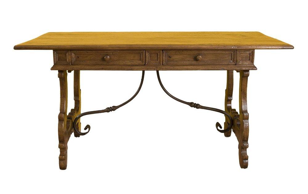 SCRITTOIO Writing Desk - Bellini's Old World Collection: Antique Italian  Reproduction — Bellini's Antique Italia - SCRITTOIO Writing Desk - Bellini's Old World Collection: Antique