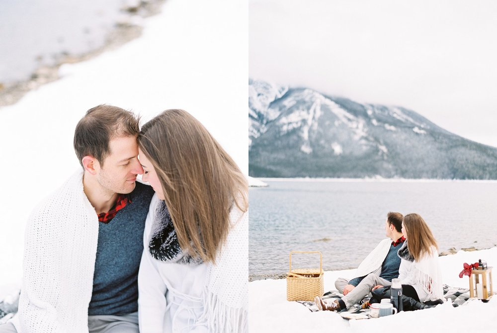 Lake Minnewanka Banff Engagement Calgary Wedding Photographer_005.jpg