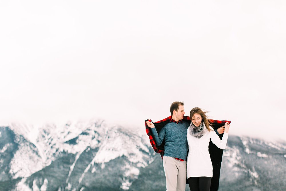 Lake Minnewanka Banff Engagement Calgary Wedding Photographer_0017.jpg