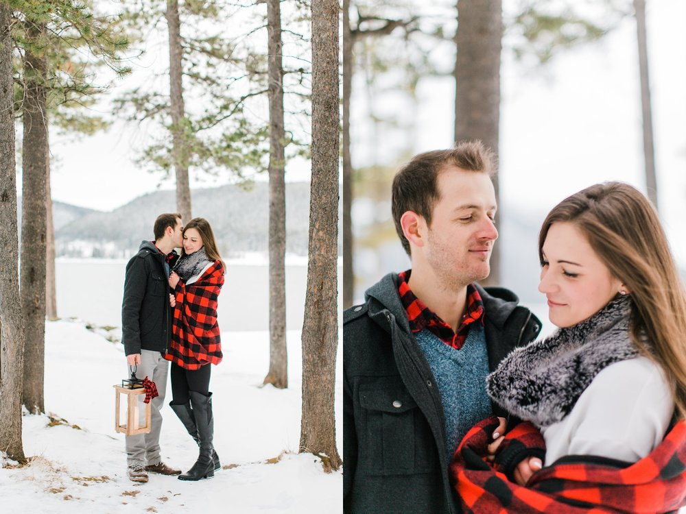 Lake Minnewanka Banff Engagement Calgary Wedding Photographer_0022.jpg
