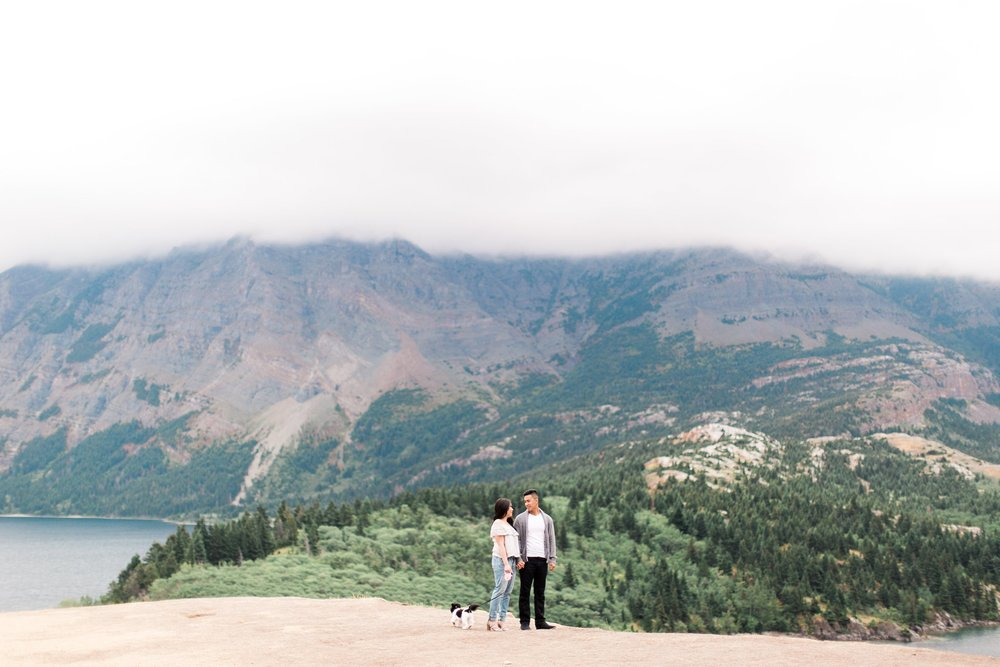 Waterton Alberta Engagement Calgary Wedding Photographer_0028.jpg