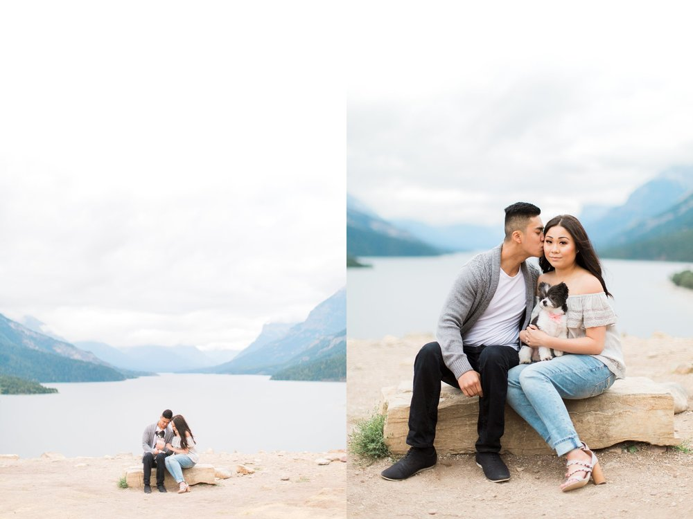 Waterton Alberta Engagement Calgary Wedding Photographer_0033.jpg