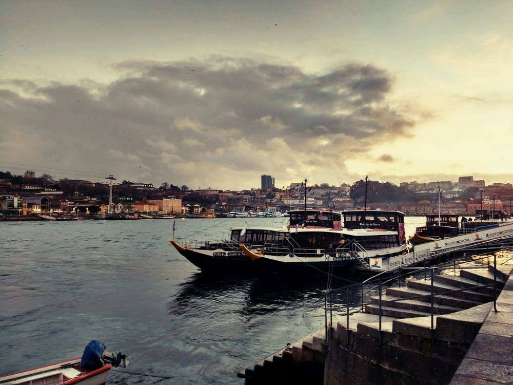 """Porto Sunset"" — by Vouter Van..."
