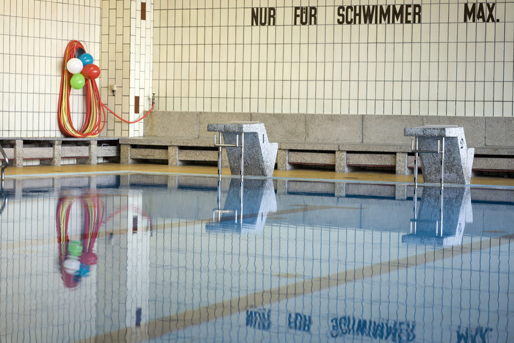 Nur für Schwimmer