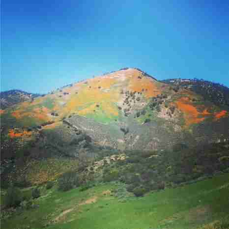 Santa Barbara Valley Mountain Range