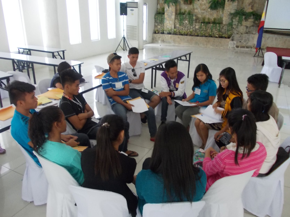 mindanao children's groups participate in the 2015 national children's meeting sOURCE: MAGCRP'S BLOG