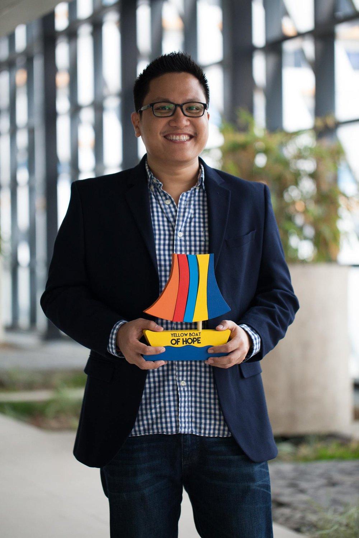 Jay Michael Jaboneta, Founder - Yellow Boat of Hope Foundation