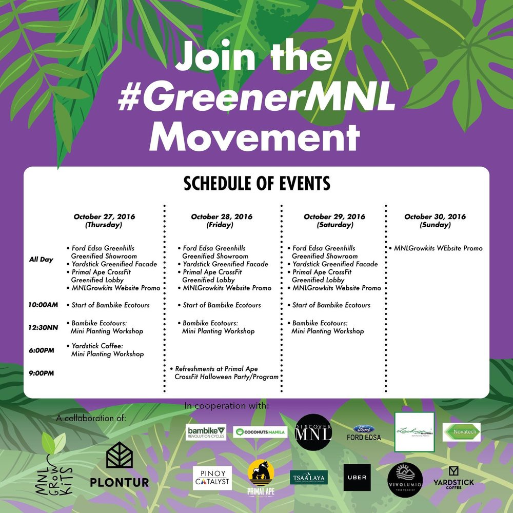 GreenerMNL Movement