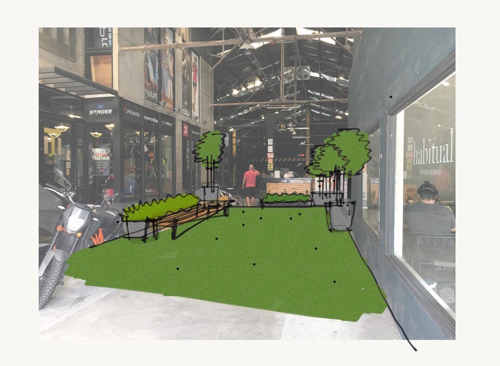Designs for the Primal Ape CrossFit lobby