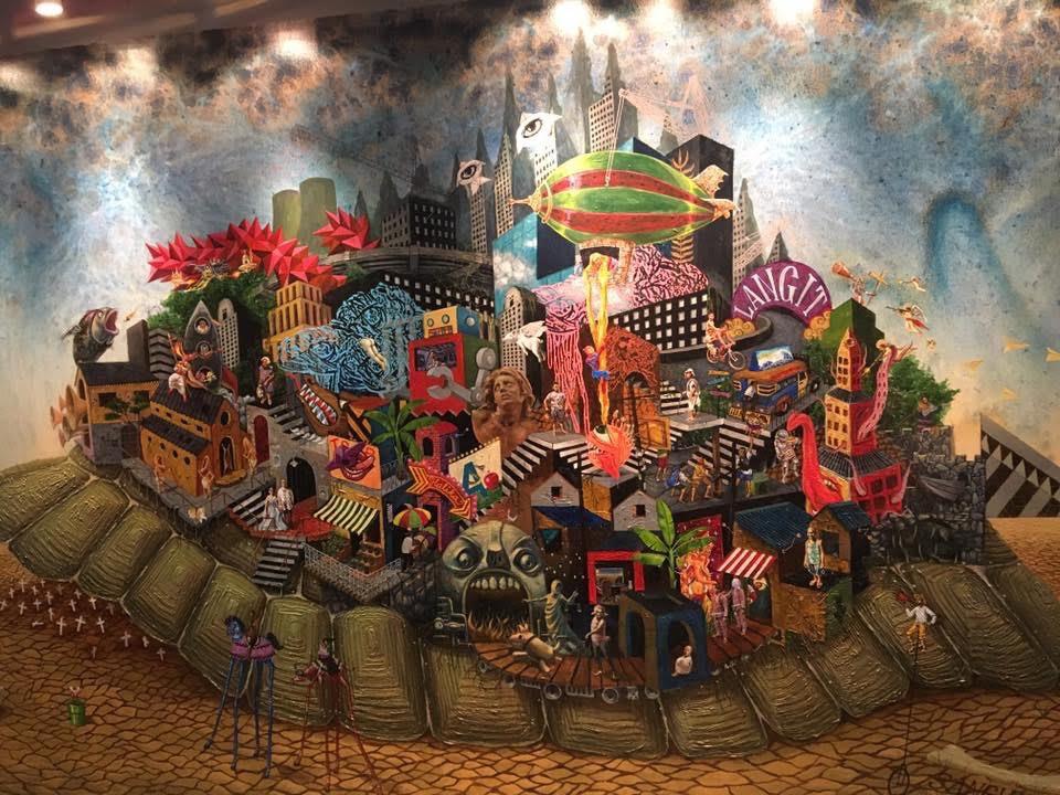 """ARTWORK: """"Ang Patuloy Na Pag-usad ng Lipunang May Sayad"""" by Sangviaje"""