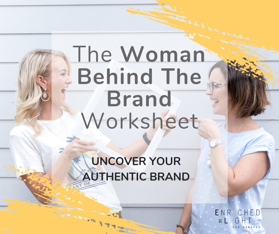 The woman behind the brand Worksheet