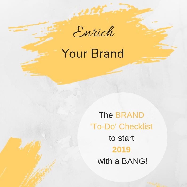 Brand To-Do Checklist 2019