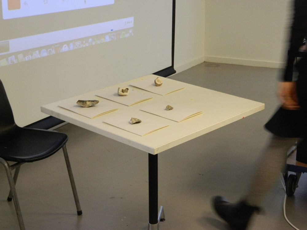 Presentation of #WobbleExperiment at the Saatchi Educational Space