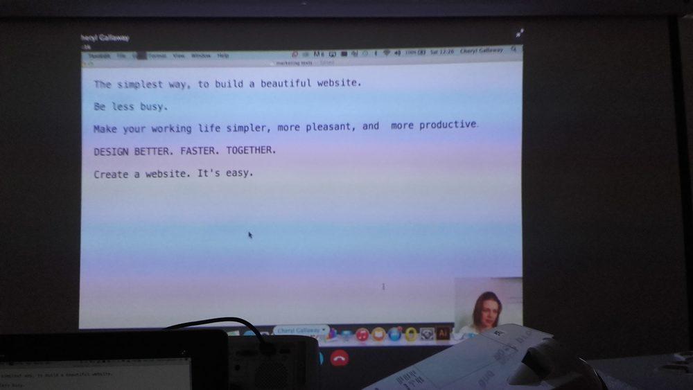 Remote presentation