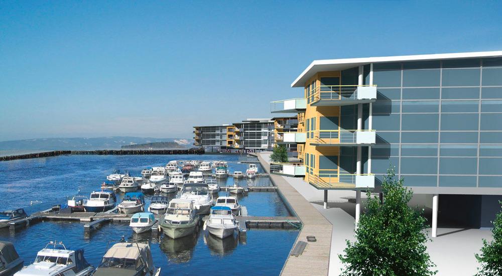 Levanger havneområde