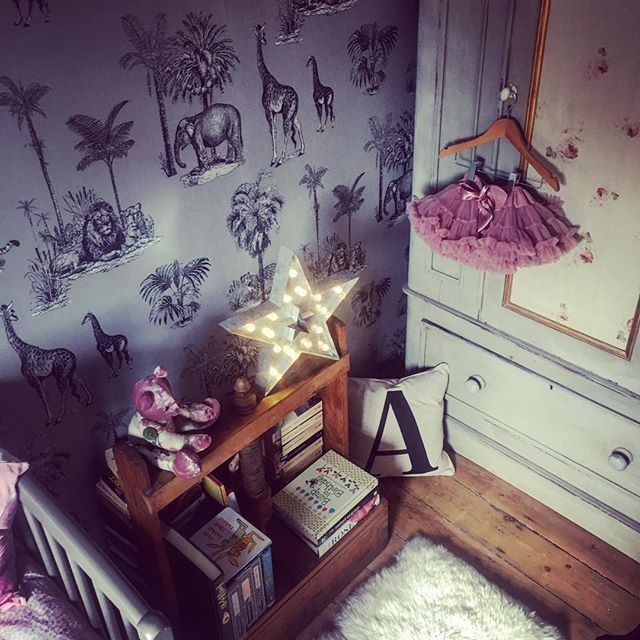 Our little princess already has her own library building up including Italian fairytales thanks to @sarah_toward #roseandleeinteriors #interiordesign #babygirlsroom #babygirlsrock #childrensdecor #childrensbooks #pleasuresoflife #readingforfun